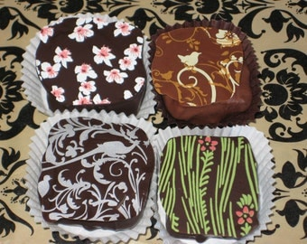 Box of 4 Handmade Chocolate Truffles From Montana