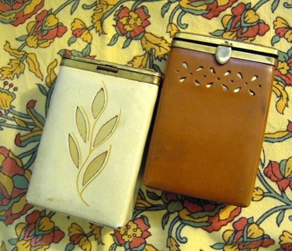 VIntage Leather Cigarette Cases - 2