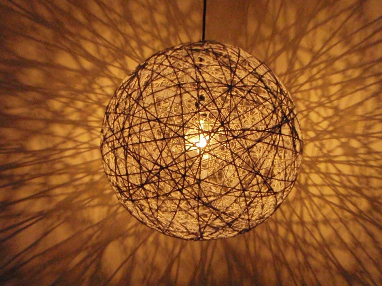 Medium 20 Inch Shadow Modern Chandelier Hanging by HangoutLighting