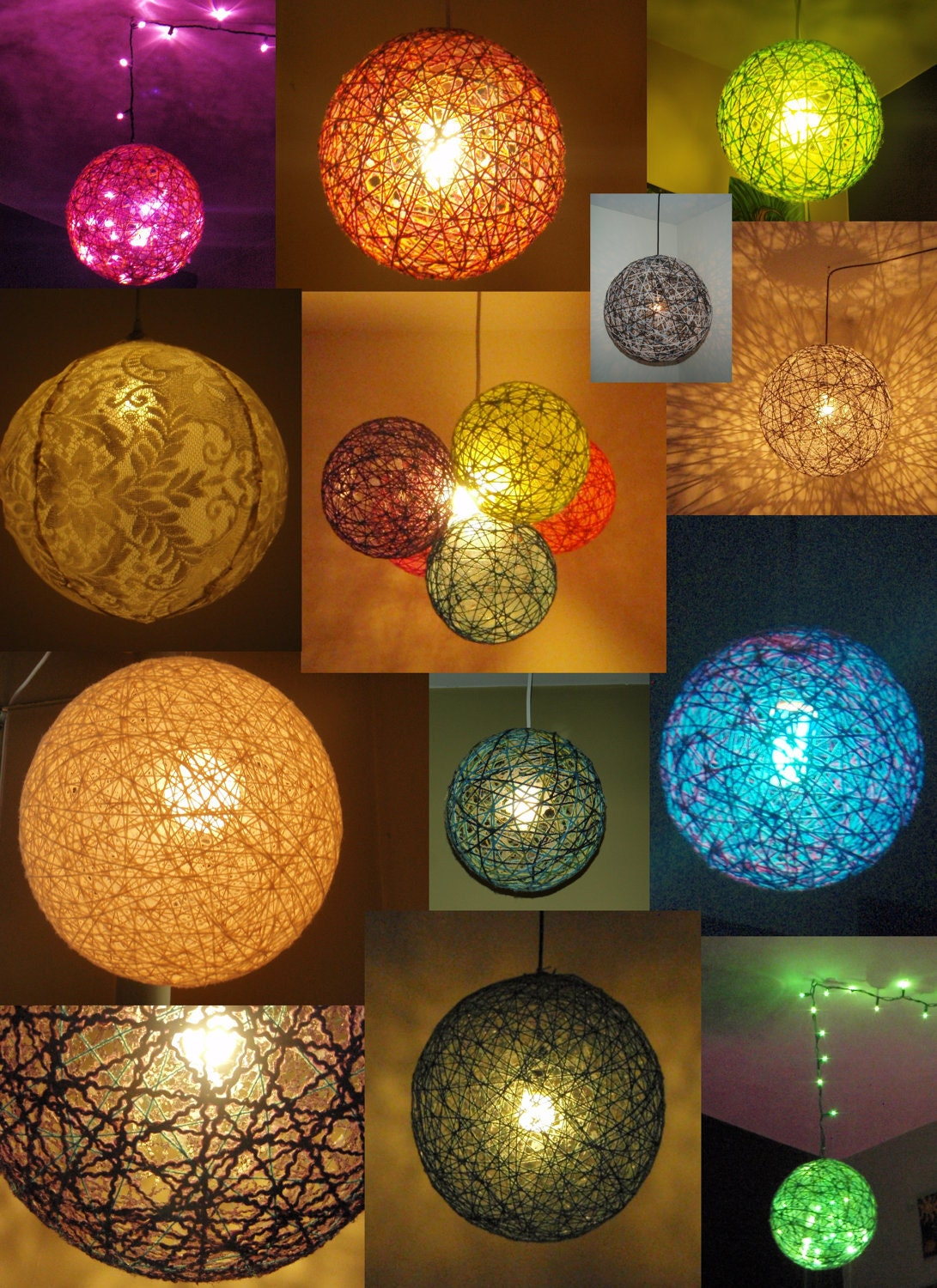 Make Globe String Lights : Unavailable Listing on Etsy