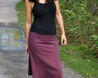 Hem Organic Cotton Skirt