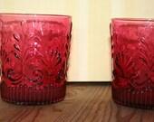 Set of 2 Beautiful Vintage Glasses