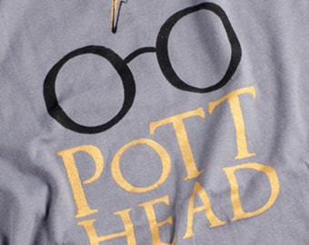 Harry Potter Shirt, The Original Pott Head Shirt, The Perfect Gift for the Harry Potter Fan in your life