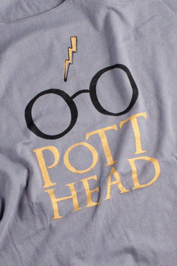 For Natalie - Pott Head T Shirt - The Perfect Gift for the Harry Potter - phile in your life