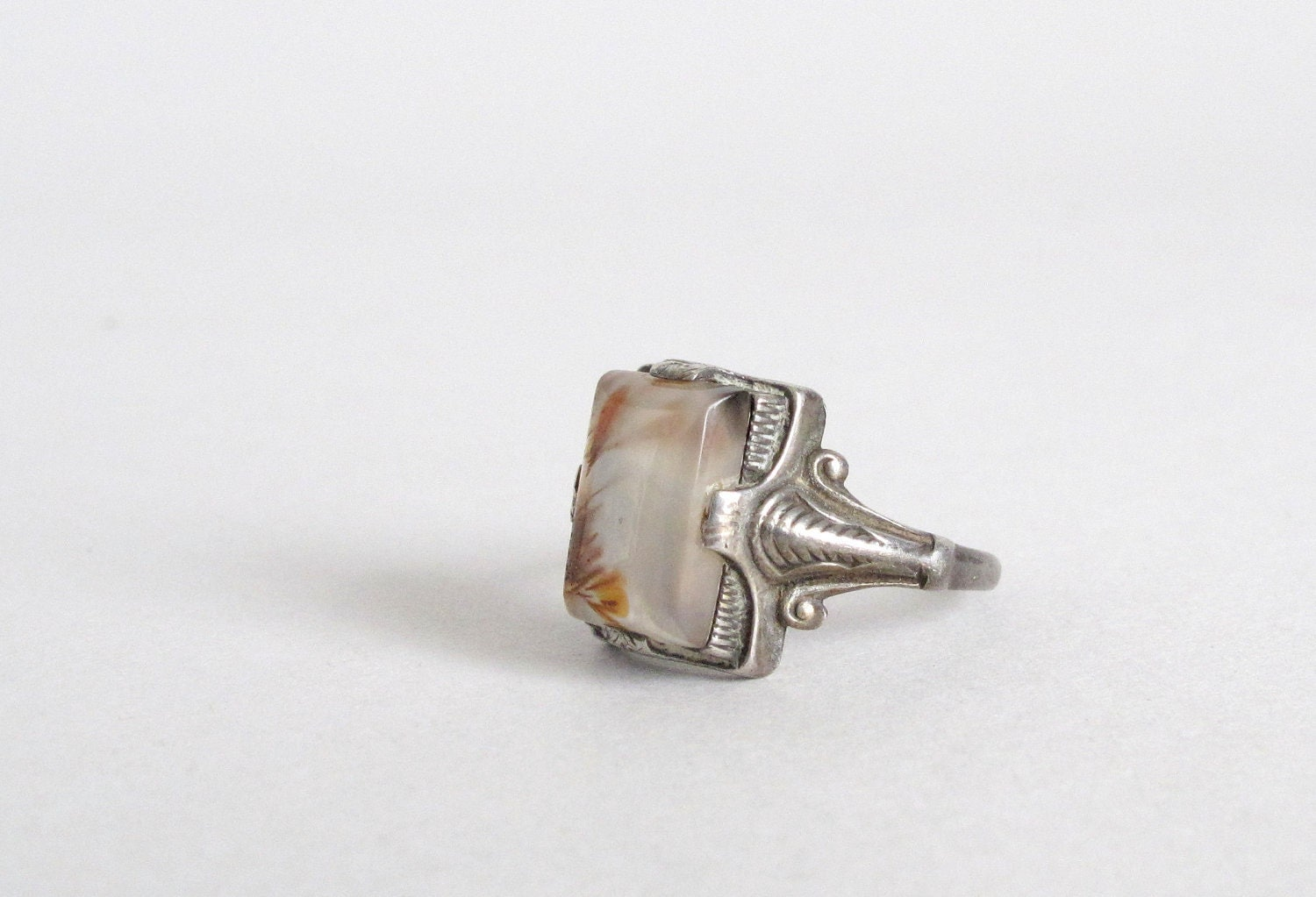 Vintage Art Deco Ring 1920s Cocktail Ring