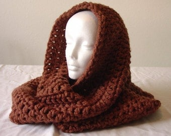 Melinda's Big Honkin Circular Infinity Scarf Crochet Pattern