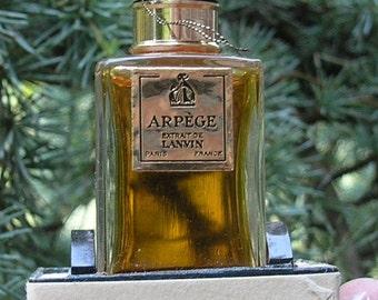 Vintage Lanvin - PARIS ARPEGE Perfume
