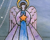 Easter Angel Faux Stained-Glass