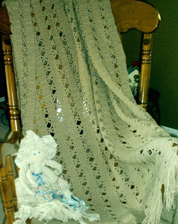 Light and lacy afghan