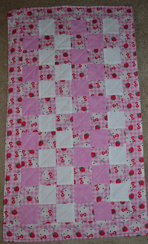 Hello Kitty Changing Pad/Doll Blanket