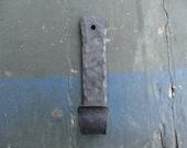 Single Wall Hook // Hammered Finish // Wall Hooks // Blacksmith Made //