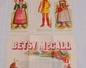 Vintage Paper Dolls and Their Clothes