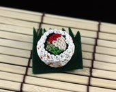 Japan Relief: California Roll Sushi Pin