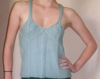 Cabled Detail Tank