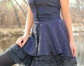 SALE - Iridescent Short Overdress- MEDIUM & LARGE