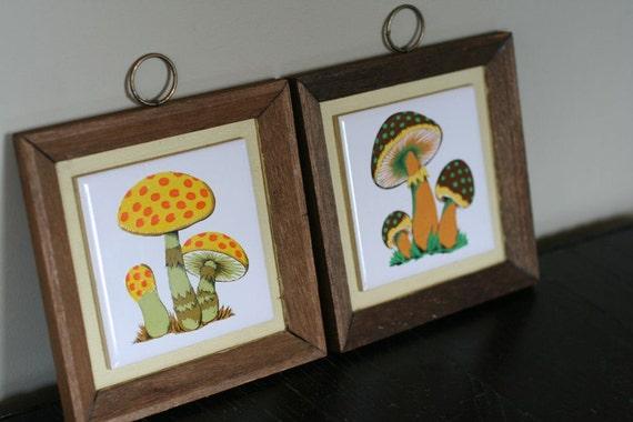 Retro Mushroom Tiles