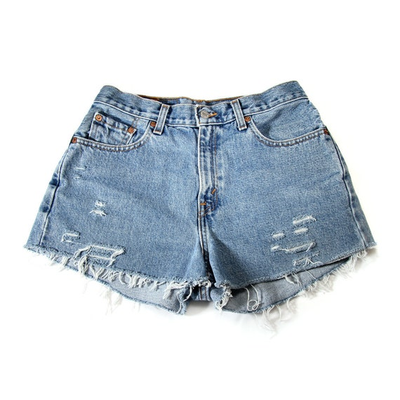 MADE TO ORDER: Studded Shorts Vintage Levis 29W