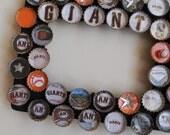 Giants Baseball Bottle Cap Picture Frame