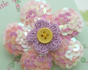 Oversize  flower clip