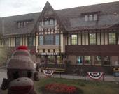 Sock Monkey at the Whitefish Montana Lodge