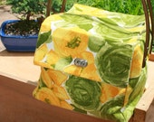 Vintage fabric box bag