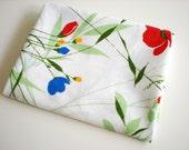 Grass & Poppy Vintage Sheet Fat Quarter