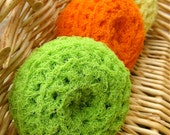 Set of 3- Citrus Scrubbies - sweetmellyjane