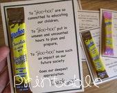 Printable- PDF- Yoo-hoo- Teacher Appreciation Idea