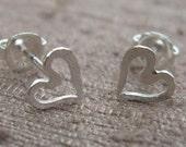 Silver Heart Post