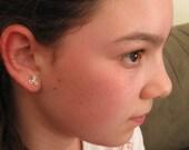 Hollow Flower Studs Earrings