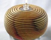 Free Shipping Red Flame Box Elder Confetti Oil Lamp