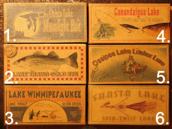 Minnesota Lake House Fishing Cabin Lures Decor