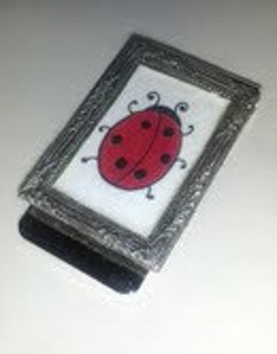Ladybug Money Clip