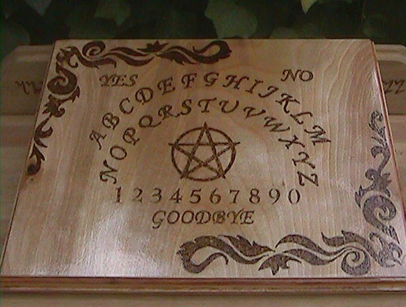 how to draw spirits to a ouija board