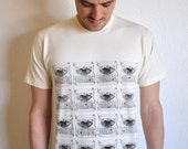 SALE - All You Need Is Love - Mens Secret Message Organic Cotton Screen Printed T-Shirt