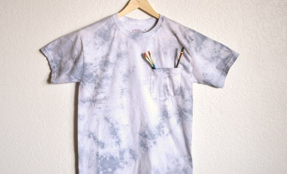 Light Side of the Moon Painters Pocket T-shirt