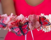 Butterfly Ballad Floral Crown