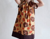 Turkey Toss Pillowcase Dress - 18m