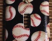 Baseball Single Toggle Light Switch Plate Cover