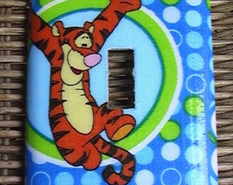 Disney Tigger Single Toggle Light Switch Plate Cover