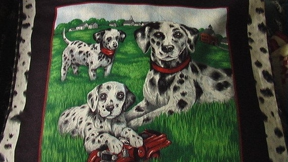 Dalmatians Pillow Sham Cover 16 x 16 inch