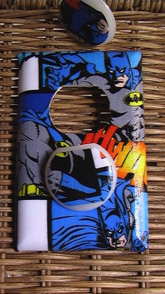 Batman Outlet Plate Cover with Child Safety Covers Switch Plate Covers to Match in Shop