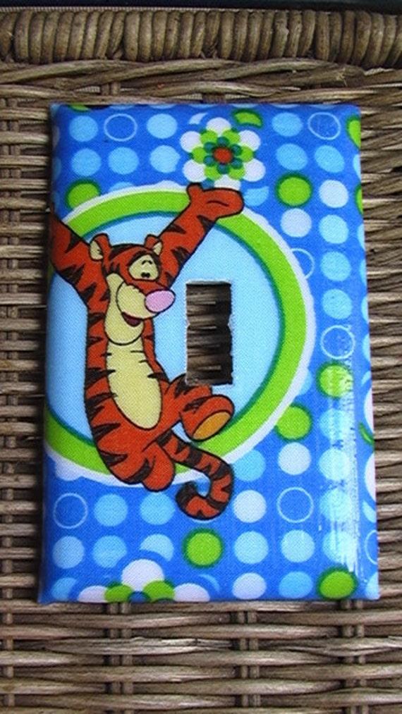 Disney Tigger Single Toggle Light Switch Plate Cover