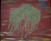 Weeping Willow Painting - Specific colors and size request