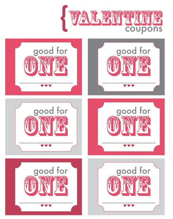 love coupon pocket book printable download by