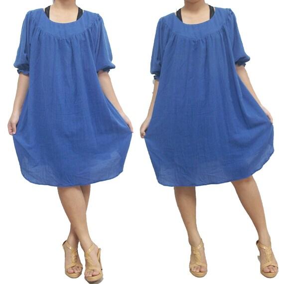 SALE 30% off - Blue Long Blouse or Shirt