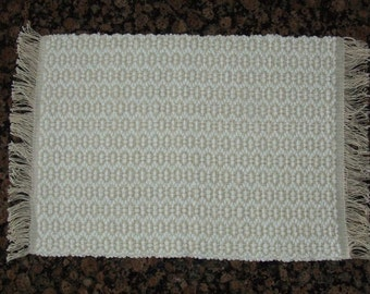 Handwoven Placemats - White