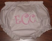 Baby Bloomers - Personalized Monogram