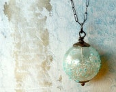 Childhood Dreams Petite Pearls Globe of Wonder Pendant with Sterling Silver Chain
