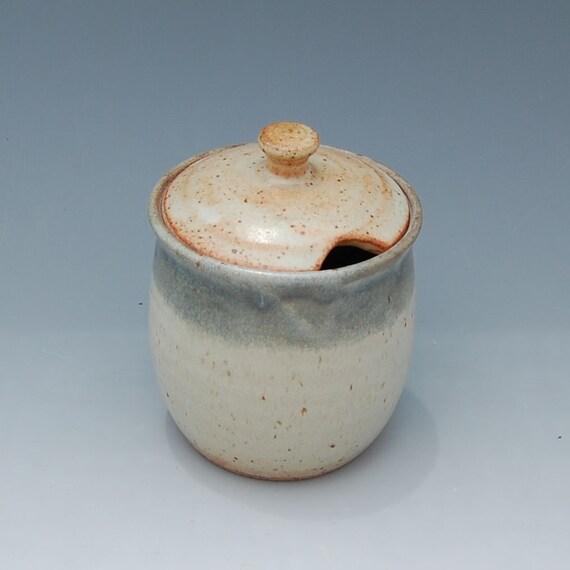 Ceramic Sugar Bowl - Honey Jar - Jam Jar